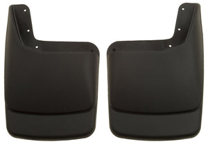 Husky Liners 99-09 Ford SuperDuty Regular/Super/Crew Cab Custom-Molded Rear Mud Guards (w/Flares)