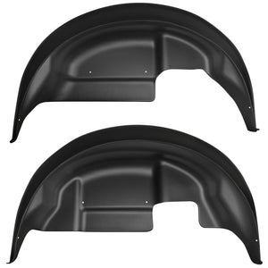 Husky Liners 17-19 Ford F-150 Raptor Black Rear Wheel Well Guards
