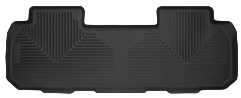 Husky Liners 18+ Chevrolet Traverse w/ Bench/Bucket Seat X-Act Contour Black Floor Liners (2nd Seat)