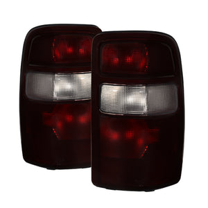 Xtune Chevy Suburban TahOE 00-06 OEM Style Tail Lights Red Smoked ALT-JH-CSUB04-OE-RSM