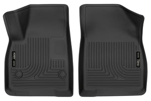 Husky Liners 17-18 Cadillac XT5/17-18 GMC Acadia 2nd Row Bench X-Act Contour Black Front Floor Liner