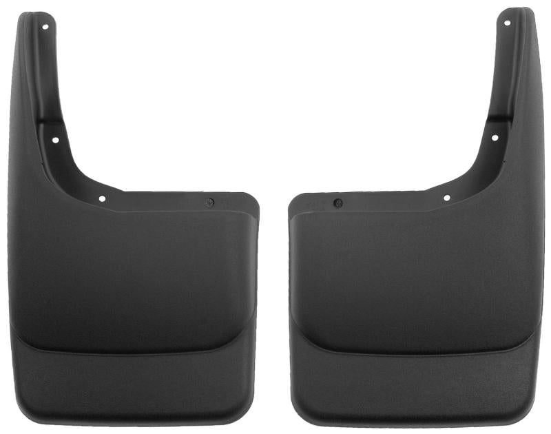 Husky Liners 04-12 Ford F-150 Custom-Molded Rear Mud Guards (w/o Flares)
