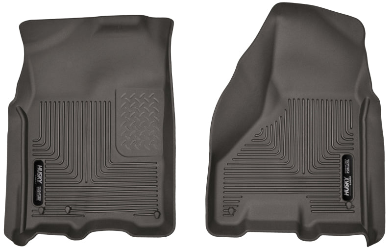 Husky Liners 09-17 Dodge Ram 1500 Crew Cab X-Act Contour Cocoa Front Floor Liners (A/T Only)