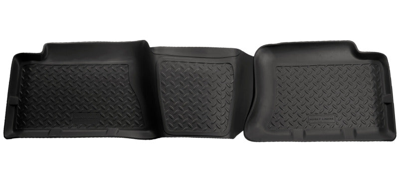 Husky Liners 04-06 Chevrolet Silverado/GMC Sierra 1500 Classic Style 2nd Row Black Floor Liners