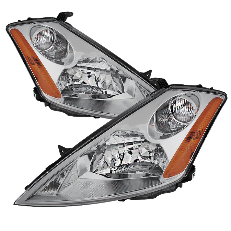 Xtune Nissan Murano 03-07 (Not Hid Model) Crystal Headlights Chrome HD-JH-NMU03-AM-C