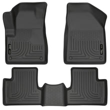 Husky Liners 14 Jeep Cherokee WeatherBeater Black Front and Second Seat Floor Liners