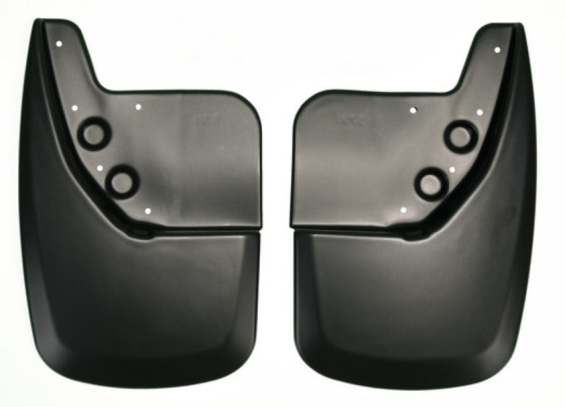 Husky Liners 07-12 Toyota Tundra Regular/Double/ CrewMax Cab Custom-Molded Rear Mud Guards