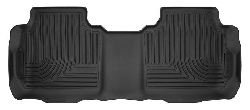 Husky Liners 17-18 Cadillac XT5/17-18 GMC Acadia 2nd Row Bench X-Act Contour Black 2nd Seat Liners