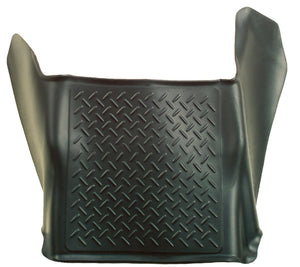 Husky Liners 08-10 Ford SuperDuty Super/Crew Cab WeatherBeater Center Hump Black Floor Liner