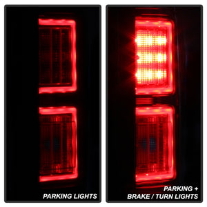 Spyder 18-19 Ford F-150 (W/O Blind Spot Sensor) LED Tail Lights - Chrome (ALT-YD-FF15018-LED-C)