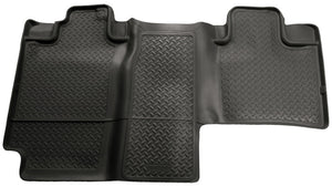 Husky Liners 04-08 F-150 Super Crew Cab/Lincoln Mark LT Classic Style 2nd Row Black Floor Liners