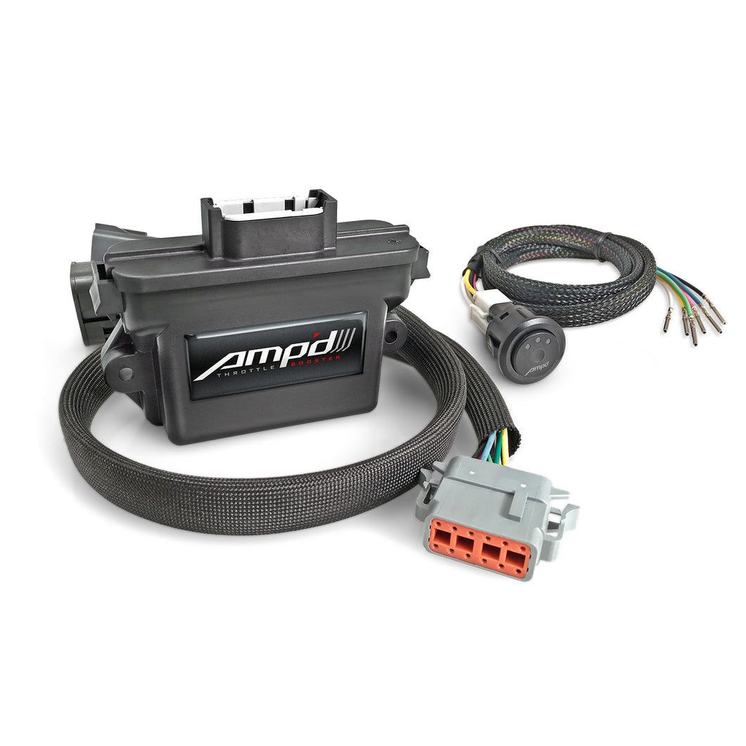 Edge Products -  38862-D - Amp'd Throttle Booster with Switch - 2007-2018 DODGE 5.9L & 6.7L CUMMINS | 2014-2018 DODGE RAM 1500 3.0L ECODIESEL