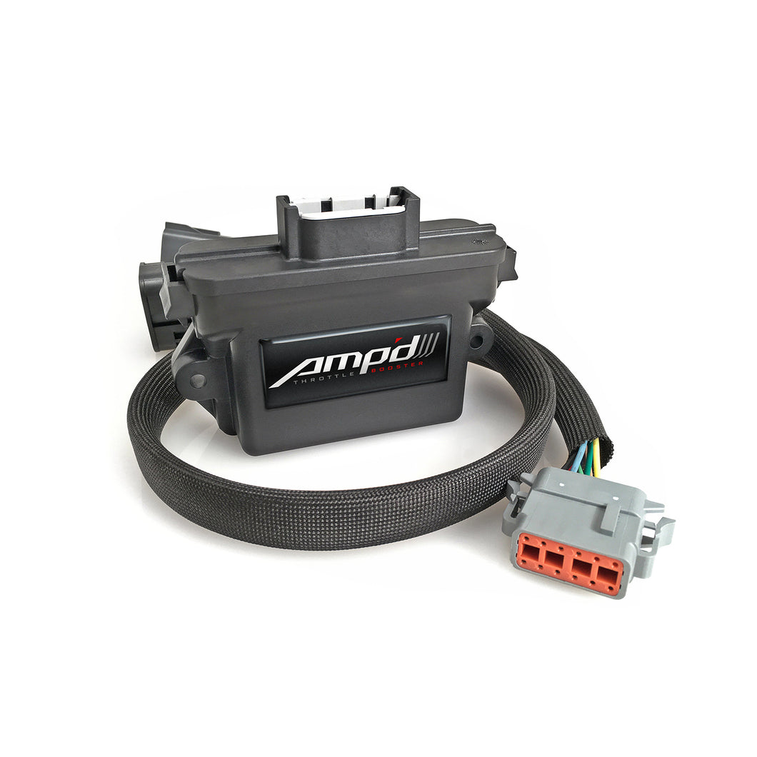 Edge Products - 28856-D - Amp'd Throttle Booster - 2006-2007 GM 6.6L DURAMAX LBZ