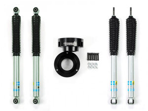 Sinister Diesel - SD-9409LVL-BLK-BIL - Sinister Diesel Leveling Kit for Dodge Cummins 1994-2012 Black (4wd Only) w/ Bilstein 5100 Series Shocks