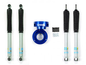 Sinister Diesel - SD-9409LVL-BLU-BIL - Sinister Diesel Leveling Kit for Dodge Cummins 1994-2012 Blue (4wd Only) w/ Bilstein 5100 Series Shocks