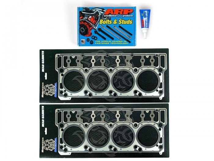 Sinister Diesel - SD-ARP-HEAD-6.0 - Sinister Diesel Head Stud and Gasket Combo Kit for Ford Powerstroke 2003-2007 6.0L