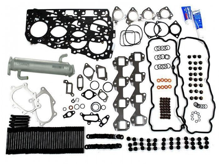 Sinister Diesel - SD-CS-LLY-EGRC - Sinister Diesel Complete Solution® Kit w/ EGR Cooler for 2004.5-2005 Duramax LLY