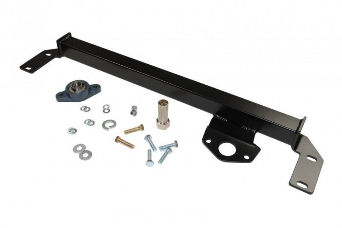 Sinister Diesel - SD-DODGE-SBS-10-12 - Sinister Diesel Steering Box Support for Dodge Cummins 2010-2012 (2003-2009 w/ Updated 6-bolt Steering box)