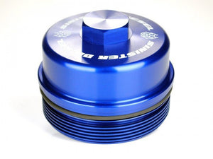 Sinister Diesel - SD-FFC-6.4 - Sinister Diesel Fuel Filter Cap for Ford Powerstroke 2008-2010 6.4L