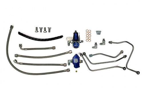 Sinister Diesel - SD-FUELREG-6.0 - Sinister Diesel Regulated Fuel Return Kit for Ford Powerstroke 6.0L