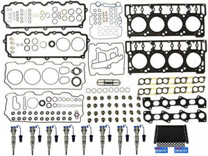 Sinister Diesel - SD-INJPKG-6.0-18 - Sinister Diesel Injector Package for 2004.5-2006 (6.0L) Powerstroke w/18mm Head Gaskets