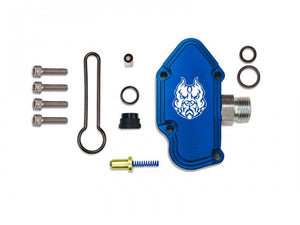 Sinister Diesel - SD-FUELBLK-6.0 - Sinister Diesel Blue Spring Kit with Billet Spring Housing for 2003-2007 Ford Powerstroke 6.0L