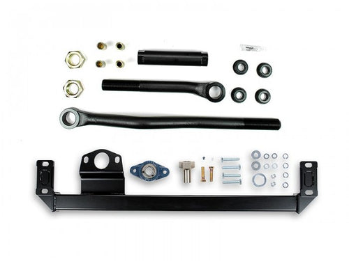 Sinister Diesel - SD-DODGE-TB-SBS-10 - Sinister Diesel Adjustable Track Bar and Steering Box Support Kit for Dodge Cummins 2010-2012 4WD
