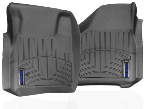 Sinister Diesel - SD-FLOORLINER-FORD - Sinister Diesel 1st Row FloorLiner (Driver & Passenger) for 1999-2019 Ford Super Duty