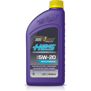ROYAL PURPLE HPS 5W20 SYN OIL - QUART