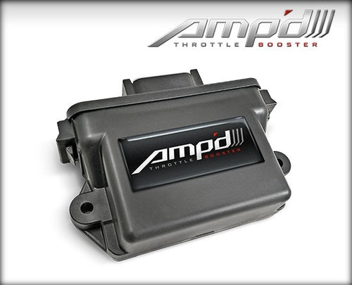 Superchips - 28857-D - AmpD Throttle Booster 2007.5-2017 GMC/Chevrolet 6.6L Duramax - refer to website for specific application coverage