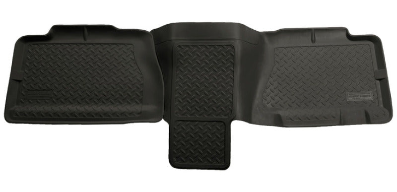Husky Liners 01-06 Chevy Suburban/Yukon XL/Denali XL Classic Style 2nd Row Black Floor Liners
