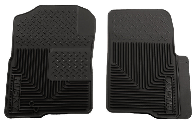 Husky Liners 04-09 Ford F-150 Custom Fit Heavy Duty Black Front Floor Mats