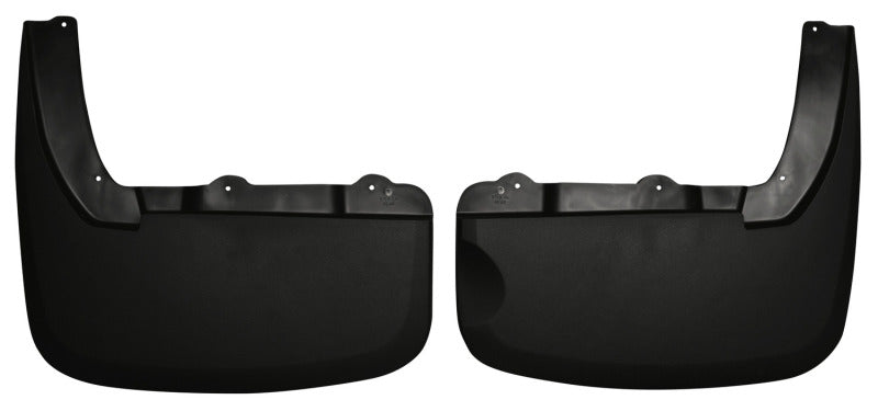 Husky Liners 10-12 Dodge Ram 3500 Dually Custom-Molded Rear Mud Guards (w/Flares)