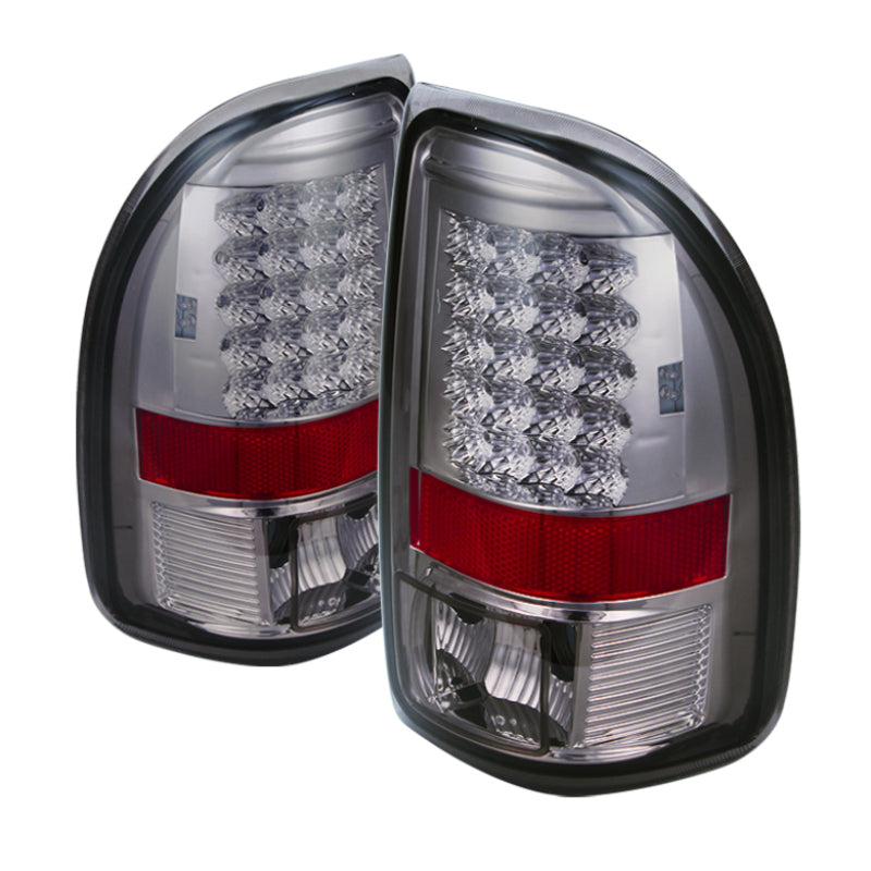 Xtune Dodge Dakota 97-04 LED Tail Lights Smoke ALT-JH-DDAK97-LED-SM