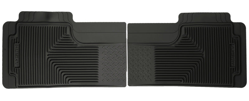 Husky Liners 80-12 Ford F-150/00-05 Ford Excursion Heavy Duty Black 2nd Row Floor Mats