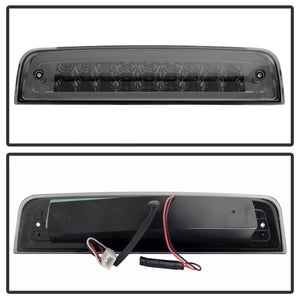 Xtune Dodge Ram 2009-2015 LED 3rd Brake Light Smoked BKL-DRAM09-LED-SM
