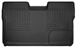 Husky Liners 09-14 Ford F-150 SuperCrew Cab X-Act Contour Second Row Seat Floor Liner - Black