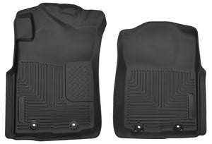 Husky Liners 12-14 Toyota Tacoma Pickup(Crew / Ext / Std Cab) X-Act Contour Black Front Floor Liners