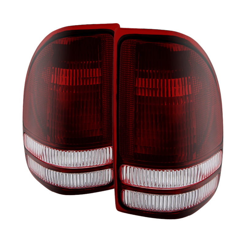 Xtune Dodge Dakota 1997-2004 OEM Style Tail Lights -Red Smoked ALT-JH-DDAK97-OE-RSM