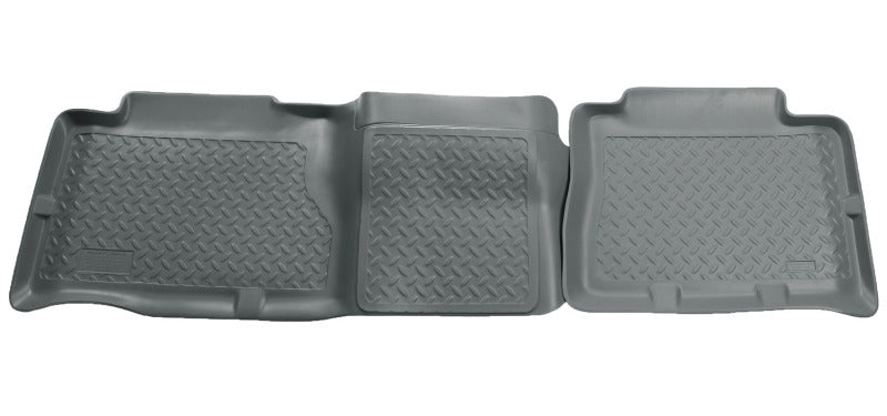 Husky Liners 02-06 Cadillac Escalade/GMC Yukon/Denali Classic Style 2nd Row Gray Floor Liners