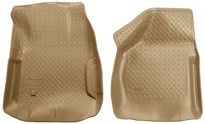 Husky Liners 00-07 Ford F Series SuperDuty Reg./Super/Super Crew Cab Classic Style Tan Floor Liners