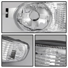 Xtune GMC Sierra Denali 00-06 Bumper Lights Clear CBL-GD00-C