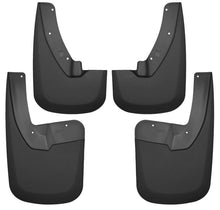Husky Liners 09-17 Dodge Ram 1500/2500 Both w/ OE Fender Flares Front and Rear Mud Guards - Black