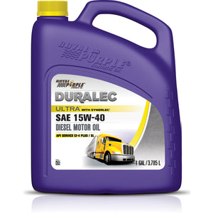 ROYAL PURPLE DURALEC ULTRA 15W40 MOTOR OIL - 1 GALLON BOTTLE