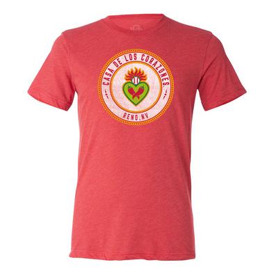 108 Stitches Los Corazones Decal Tee