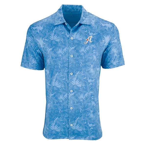 "Vantage Hawaiian ""A"" Logo Button up"