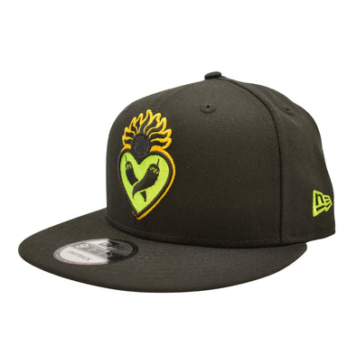 New Era Los Corazones Black 9Fifty Snapback