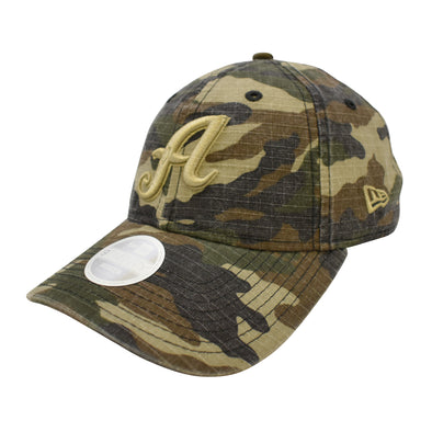 "New Era ""A"" Logo Womens Camo 9Twenty Adjustable Cap"