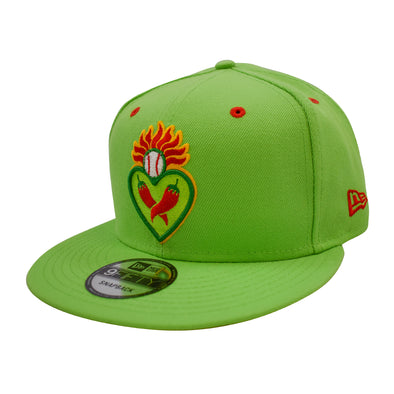 New Era Corazones Lime Green 9Fifty Snapback
