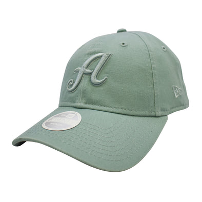 "New Era ""A"" Logo Pick Adjustable Cap Light Green"